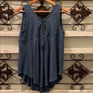 LuckyBrand summer top NWOT